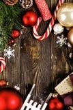 Composición hermosa de la decoración del ½ del ¿de Christmasï Foto de archivo