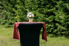 Composición hermosa de la flor al aire libre Foto de archivo