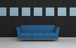 Composición interior moderna Foto de archivo libre de regalías