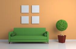 Composición interior moderna Imagen de archivo