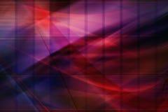 Composición púrpura abstracta stock de ilustración