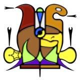 Composición pictográfica de la elipse de la palabra Fotografía de archivo
