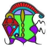 Composición pictográfica de la joya del sustantivo Imagen de archivo libre de regalías