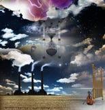 Composición surrealista libre illustration