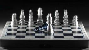 Composici?n del ajedrez en el tablero El concepto de victoria fotos de archivo libres de regalías