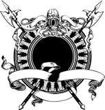 Composición de la armería. Imagenes de archivo