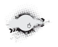 Composición del vector de Grunge Imagenes de archivo