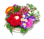 Composición floral otoñal Imagen de archivo