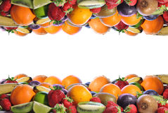 Composicion de frutas Imagen de archivo libre de regalías