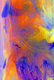 Color Swirl Abstract composing Stock Image