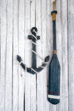 Composição no tema marinho Fotos de Stock Royalty Free