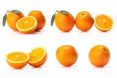 Composite of Big oranges fruit Stock Photography
