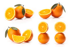 Composite of Big oranges fruit Royalty Free Stock Photography