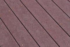 Composite Deck. Low maintenance composite deck floor close up Stock Images