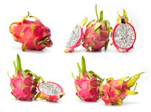 Composite of dragon fruit Stock Images