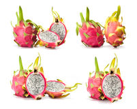 Composite of dragon fruit Stock Photography