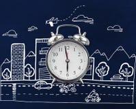 Composite image of alarm clock Royalty Free Stock Photos