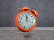 Composite image of alarm clock counting down to twelve Royalty Free Stock Photos