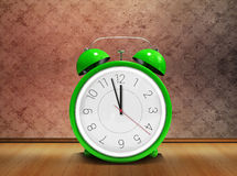 Composite image of alarm clock counting down to twelve Royalty Free Stock Photo