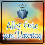 Composite image of alles gute zum vatertag Royalty Free Stock Photography