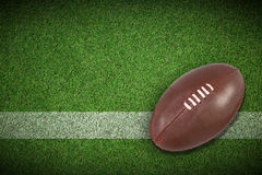Composite image of american football Stock Images