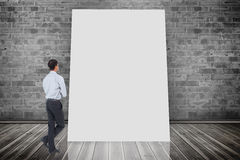 Composite image of asian businessman Royalty Free Stock Image