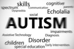 Composite image of autism Royalty Free Stock Photos