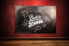 Composite image of back to school Royalty Free Stock Photography
