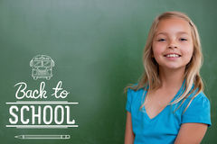 Composite image of back to school Royalty Free Stock Image