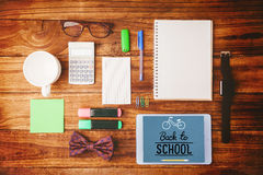 Composite image of back to school Stock Images
