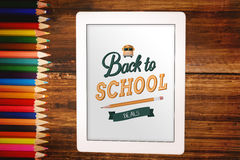 Composite image of back to school Royalty Free Stock Images
