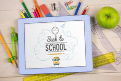 Composite image of back to school Stock Image