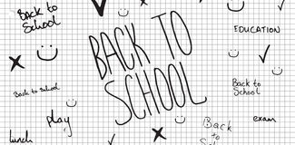 Composite image of back to school doodle Royalty Free Stock Image