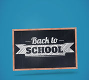 Composite image of back to school message Stock Image