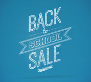 Composite image of back to school sale message Royalty Free Stock Photos