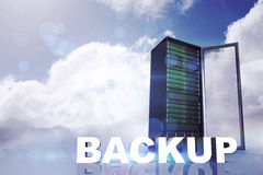 Composite image of backup Stock Photography