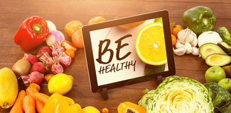 Composite image of be healthy Stock Photography