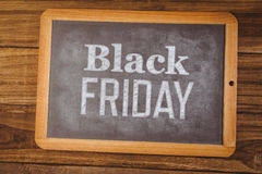 Composite image of black friday advert Royalty Free Stock Image