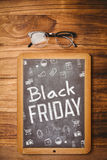 Composite image of black friday advert Stock Image