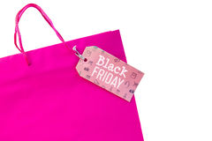 Composite image of black friday advert Royalty Free Stock Photos