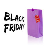 Composite image of black friday advert Stock Photography