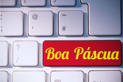 A Composite image of boa pascua Royalty Free Stock Photography