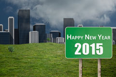 Composite image of 2015 in bold grey Stock Image