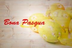 Composite image of bona pascua Stock Image