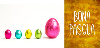 Composite image of bona pasqua Royalty Free Stock Image