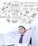 Composite image of brainstorm graphic Stock Photos