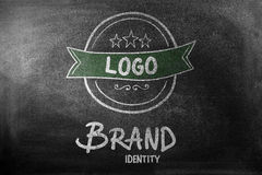 Composite image of brand identity doodle Royalty Free Stock Images