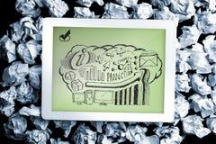 Composite image of business brainstorm doodle Stock Image