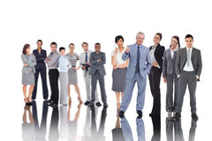 Composite image of business people Royalty Free Stock Image