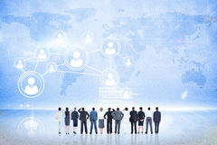 Composite image of business team Stock Photo
